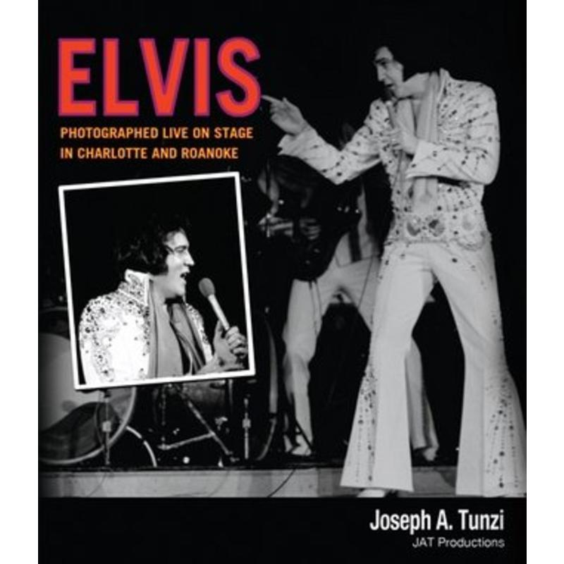 Elvis, Photographed Live On Stage In Charlotte and Roanoke