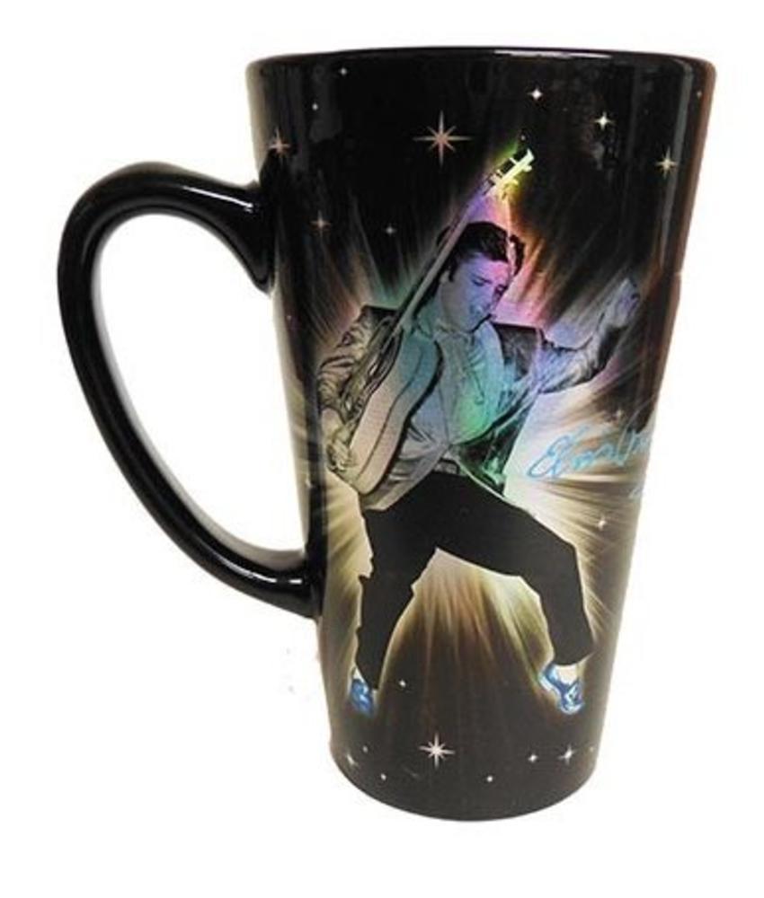 Metallic Elvis mug
