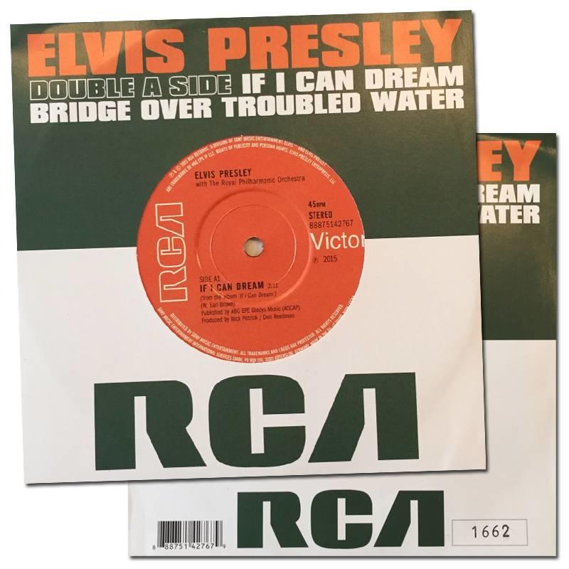 Elvis Presley - Double A side single - genummerde LIMITED EDITION