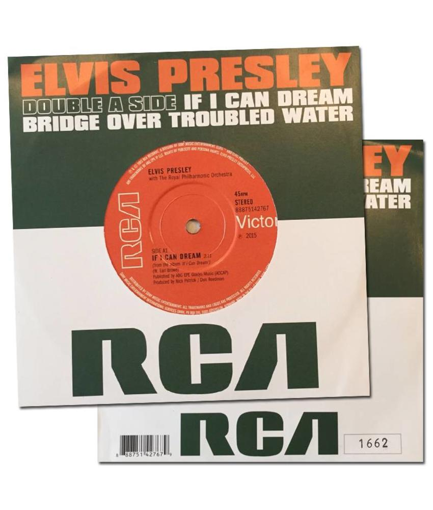 If I Can Dream/Bridge Over Troubled Water single - LIMITED EDITION