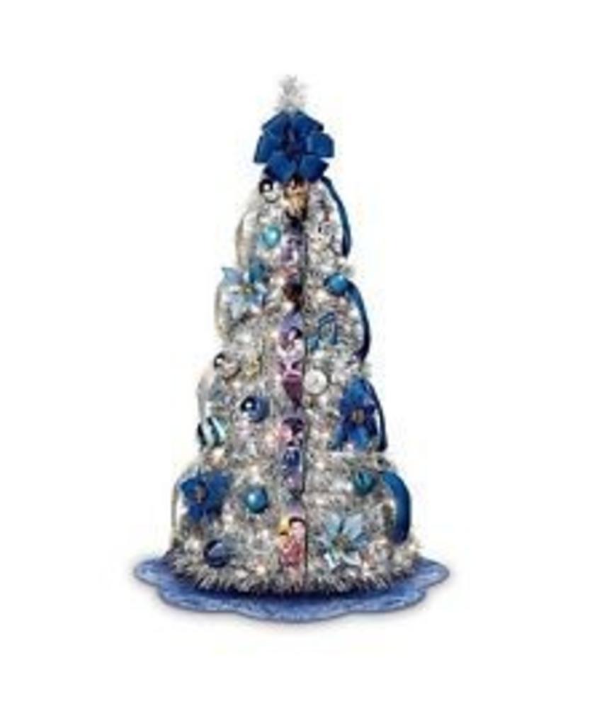 Blue Christmas, kerstboom