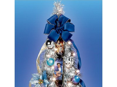 Blue Christmas Christmas Tree