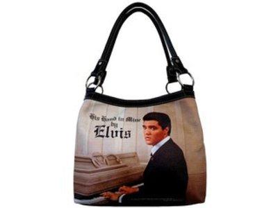Purse Elvis Elvis On Piano Medium Tote