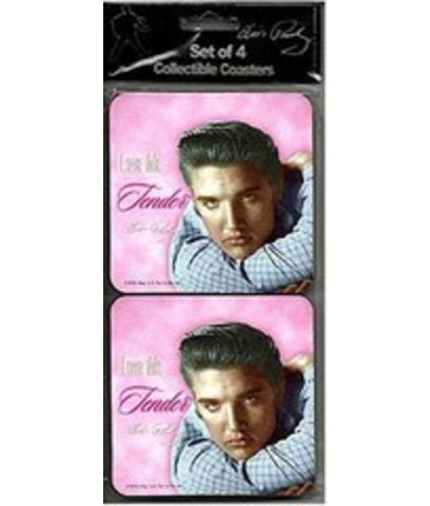 Onderzetters - Elvis - Love Me Tender