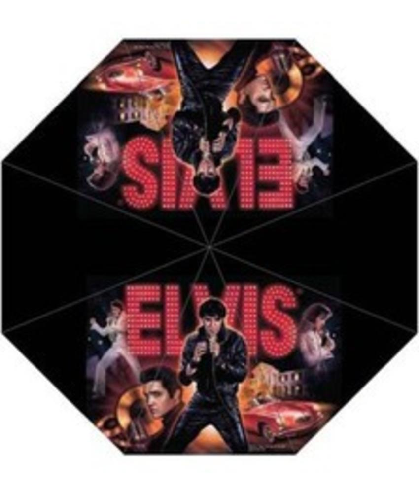 Elvis Umbrella Name Collage Mini