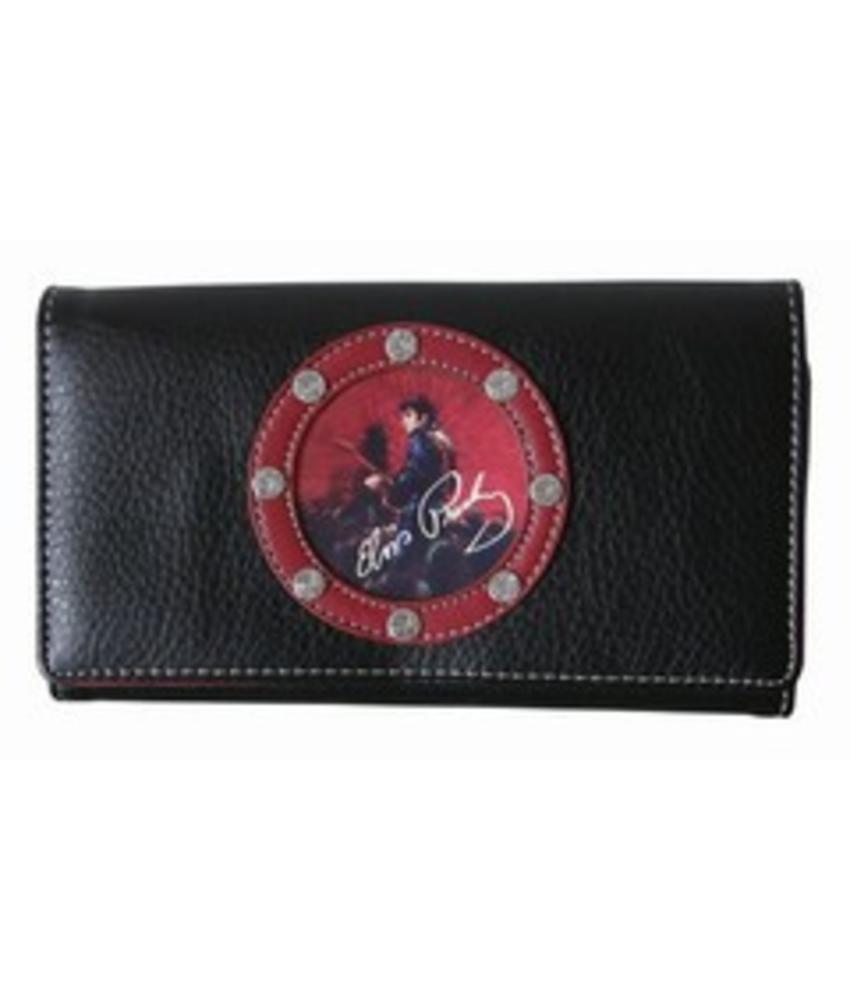 Elvis Wallet Circle Stones