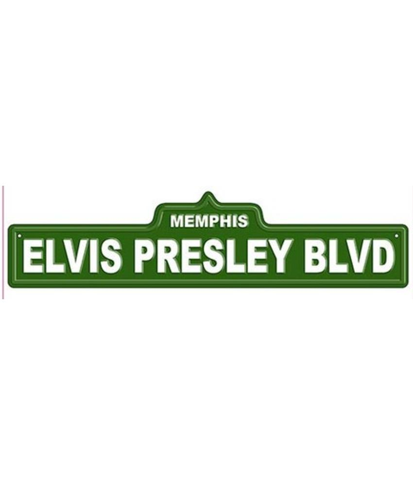 Elvis Presley Blvd Street Sign Elvis