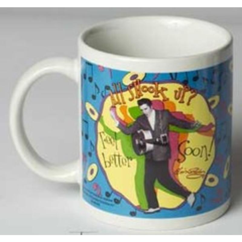 Elvis  Mug All Shook Up