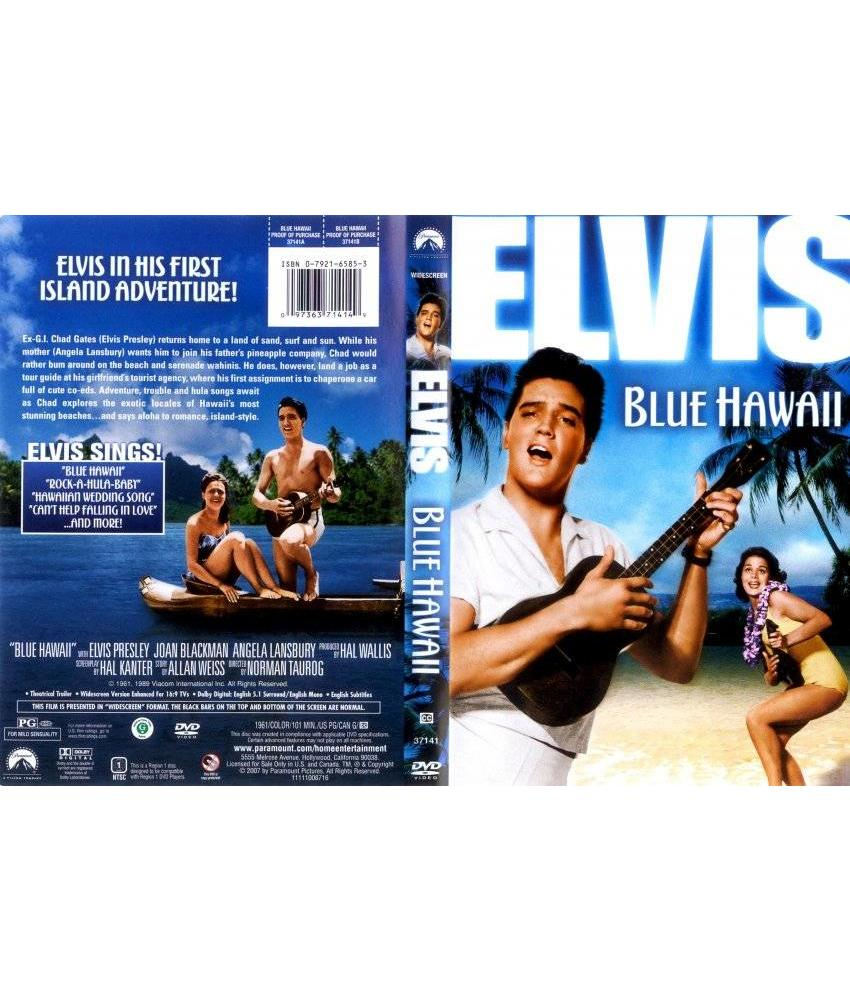 DVD - Blue Hawaii