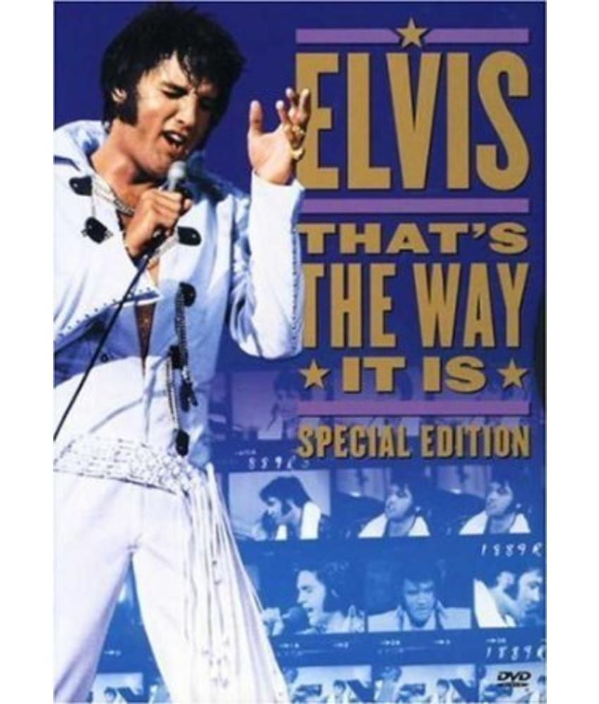 DVD - Elvis, That's The Way It Is - Special Edition