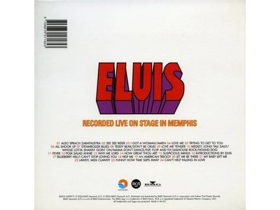 FTD - Elvis Recorded Live On Stage In Memphis
