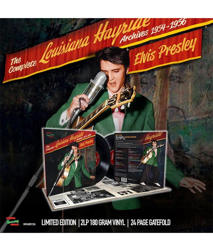 Elvis Presley - THE COMPLETE LOUISIANA HAYRIDE ARCHIVES 1954 – 1956 - 2LP (Limited Edition)