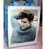 Elvis tote bag blue sweater