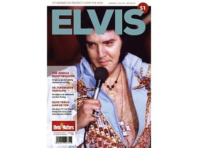 Magazine met CD - ELVIS 51