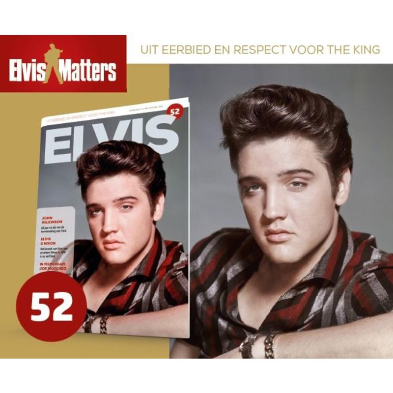 Magazine met CD - ELVIS 52