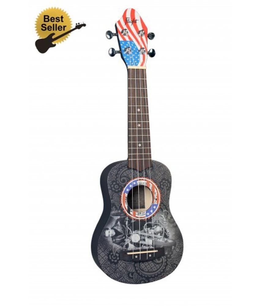 Elvis Presley Soprano Ukulele Special Edition Moto Design