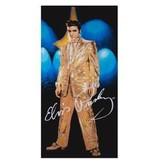 Towel Elvis Gold Lame