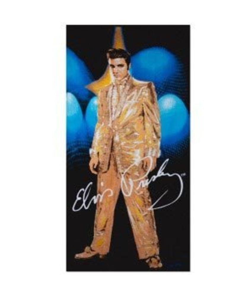 Towel Elvis Gold Lame
