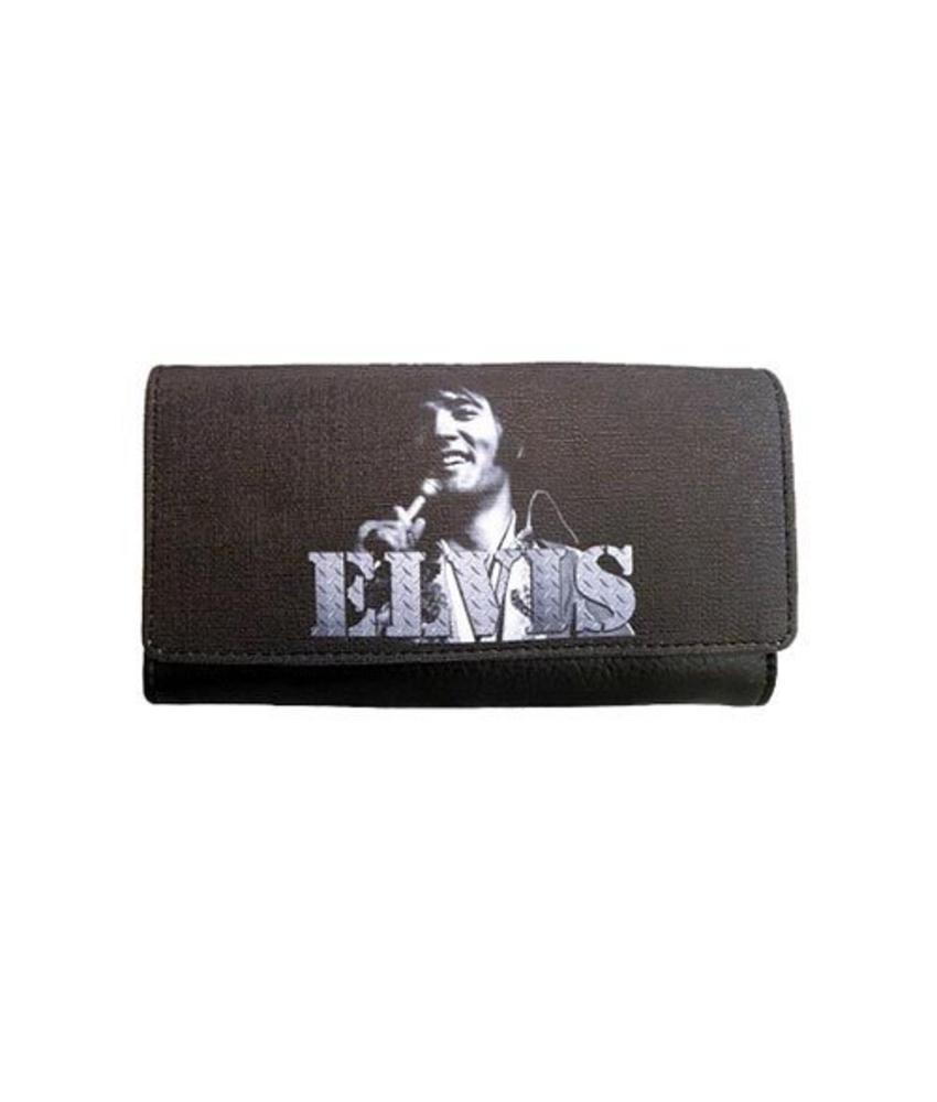 Geldbeugel - Elvis Met Microfoon 1970