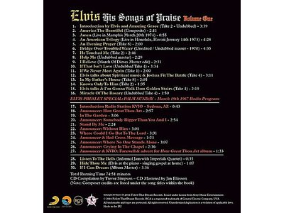 His Songs Of Praise Vol. 1 - FTD Book