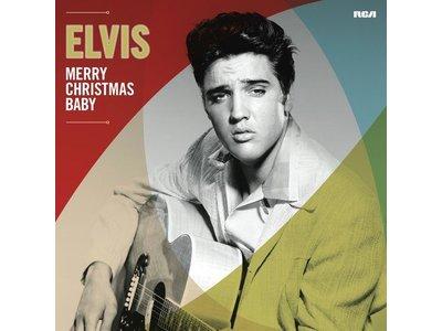 33rpm - Merry Christmas Baby - Groen Vinyl