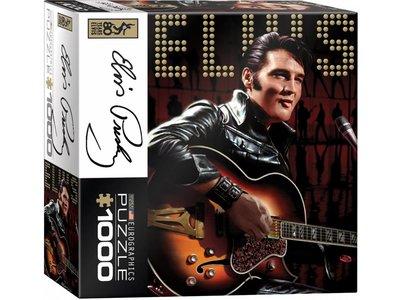 Puzzel - Elvis - Leather Suit - Box Klein
