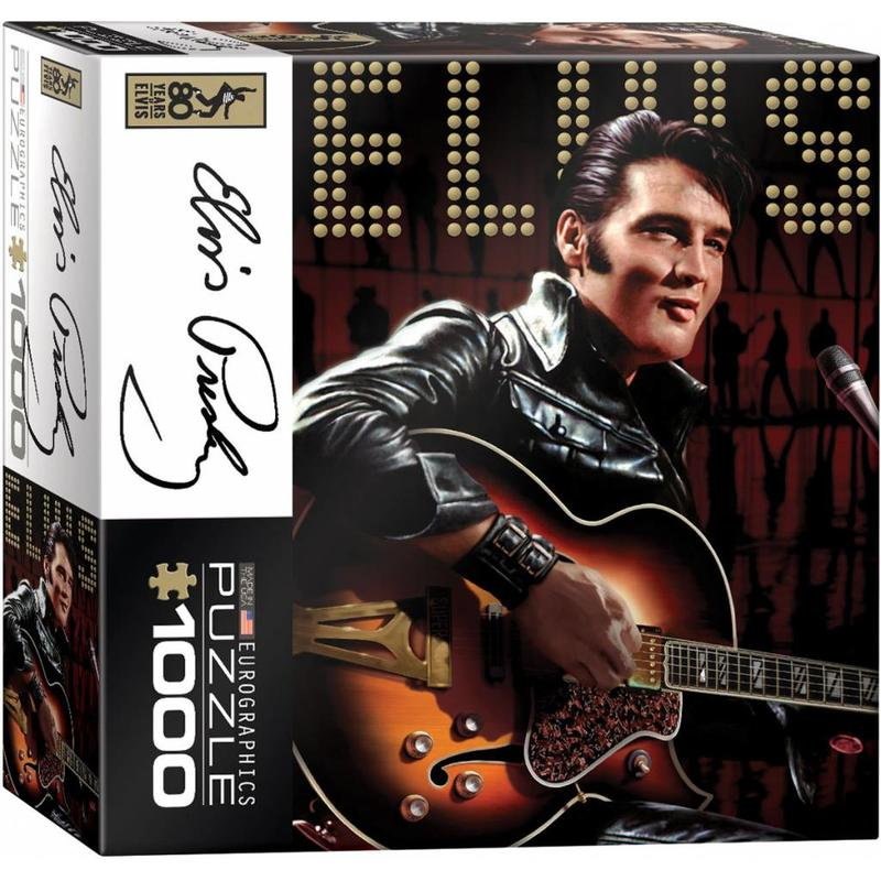 Puzzel - Elvis - Leather Suit - Box Klein
