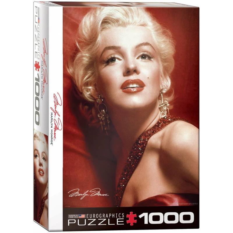 Puzzel - Marilyn Monroe - Red Portrait