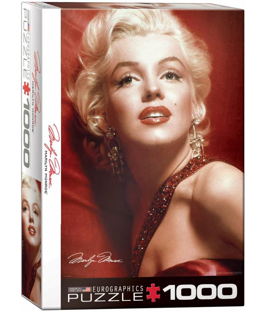 Puzzel - Marilyn Monroe - Red Portrait