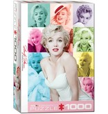 Puzzle - Marilyn Monroe - Color Portraits