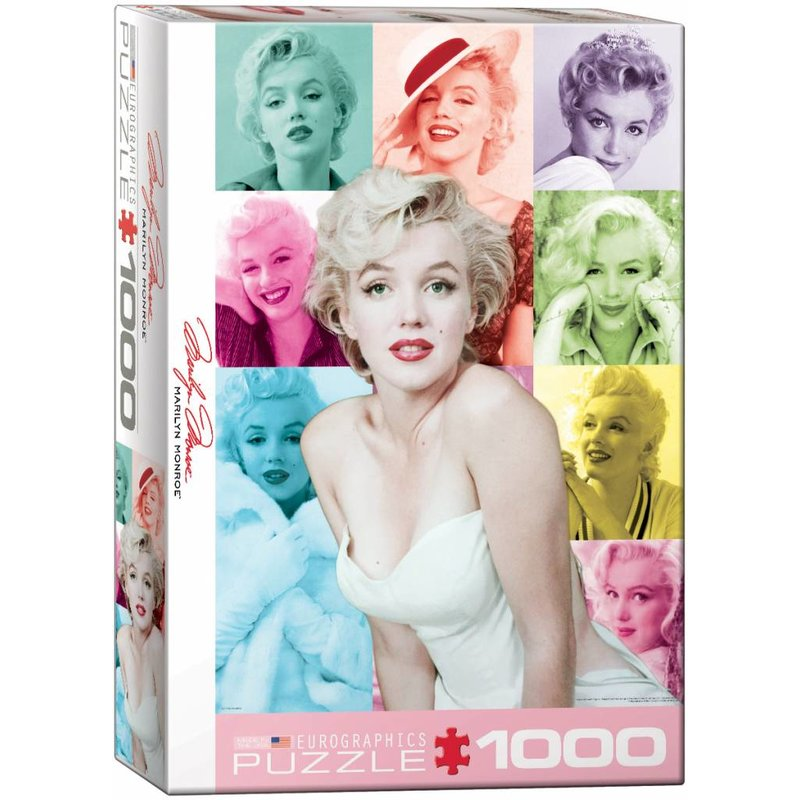 Puzzel - Marilyn Monroe - Color Portraits