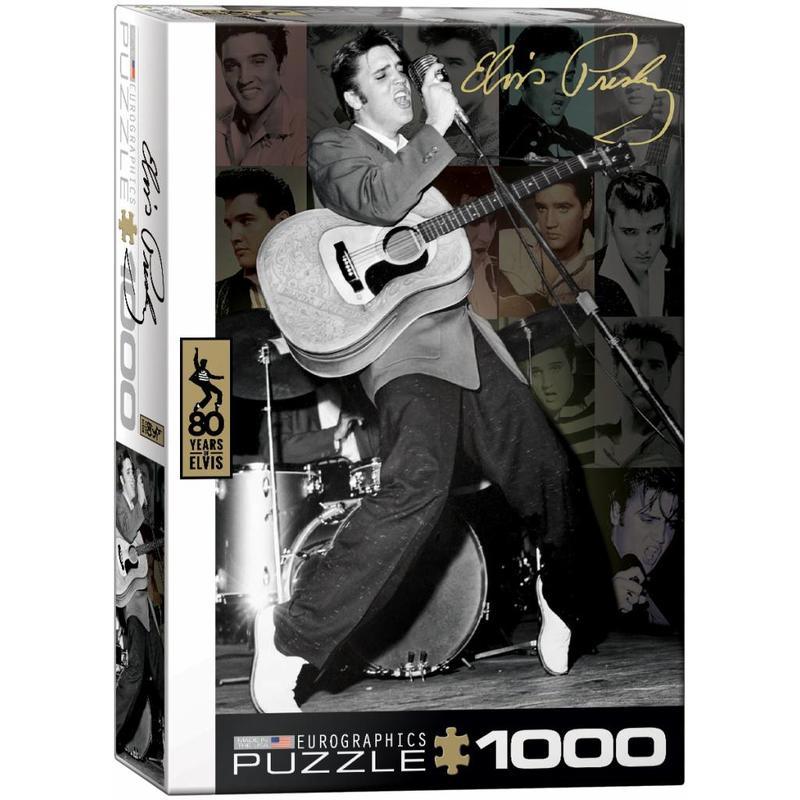 Puzzel - Elvis- Rockin' 50's