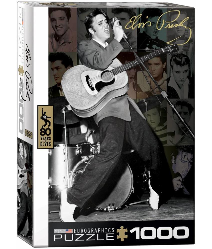 Puzzle - Elvis Rockin '50's