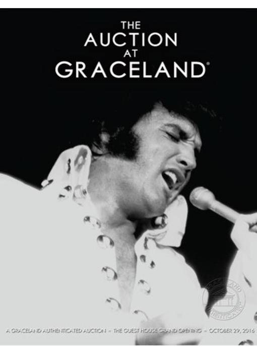 Graceland - Elvis Auction Catalog - October 2016
