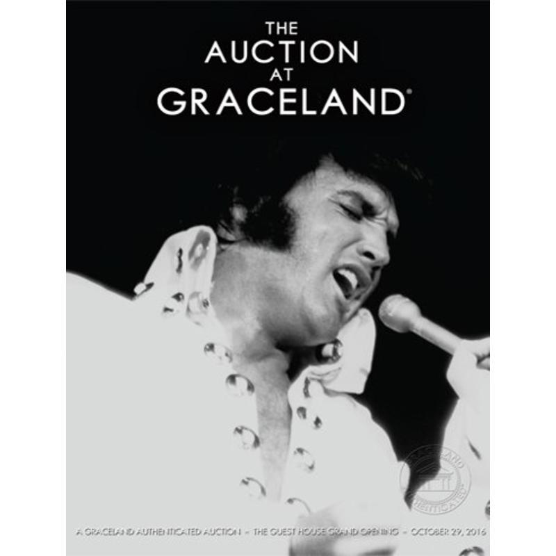 Graceland - Elvis Auction Catalog - October 2016
