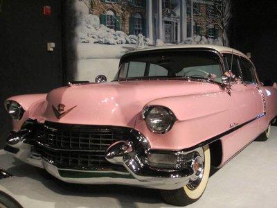 Pink Cadillac Of Elvis - Scale 1/43