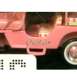 Jeep Blue Hawaii - Scale 1/43 - Pink - Graceland Sign
