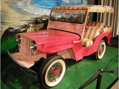 Jeep Elvis Blue Hawaii - Scale 1/43 - Pink