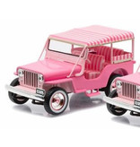 Jeep Blue Hawaii - Scale 1/43 - Pink