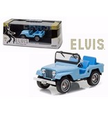 Jeep Elvis Tickle Me - Scale 1/43 - Blue