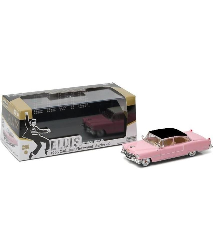 Pink Cadillac - Schaal 1/43 - Zwart Dak
