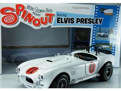 Shelby Cobra 1965 Elvis - Scale 1:18