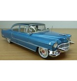 Blue Cadillac Fleetwood 1955 - Scale 1/43 - Black Roof