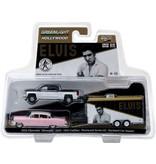 Chevrolet Silverado - Pink Cadillac 1955 - Trailer - Schaal 1:64