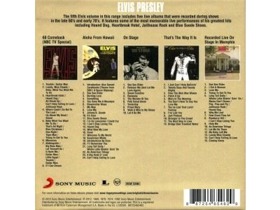 Original Album Classics - Vol 5 - The Live Collection