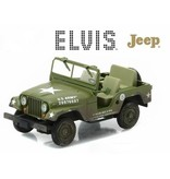 Army Jeep Elvis - Schaal 1/43