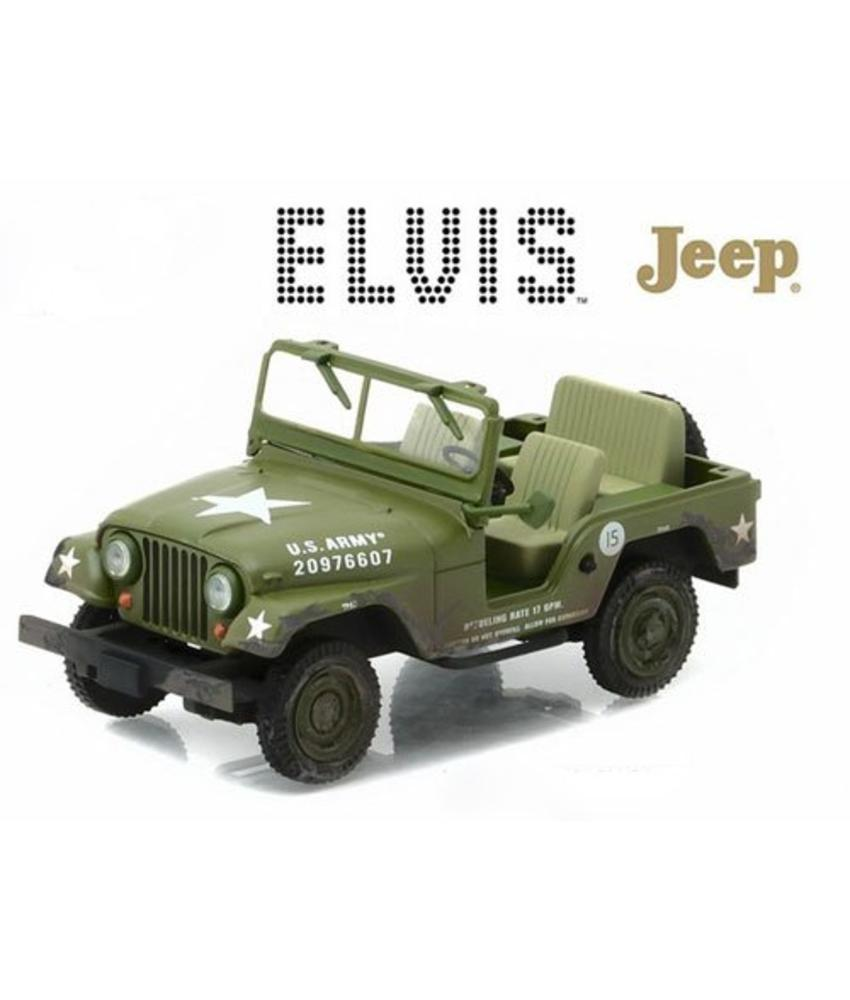 Elvis Army Jeep - Schaal 1/43
