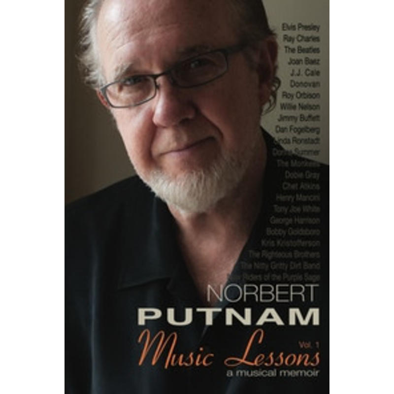 Norbert Putnam Music Lessons Vol 1 - Signed Book Elvis' Bass Player
