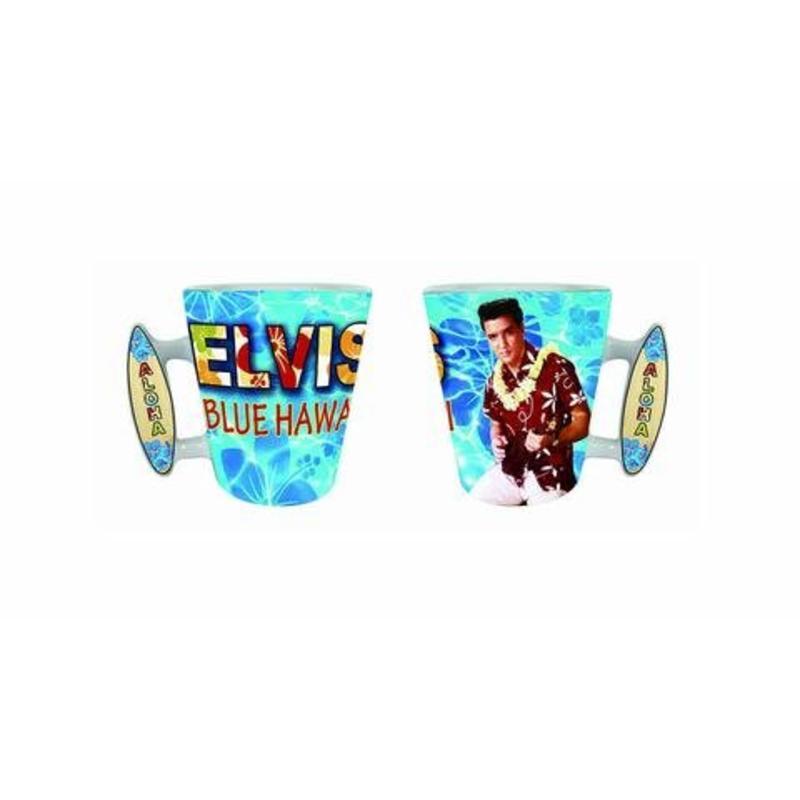 Mok Elvis Blue Hawaii Surf Board Handle