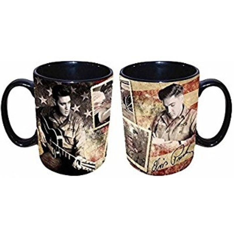 Mug Elvis In The Army